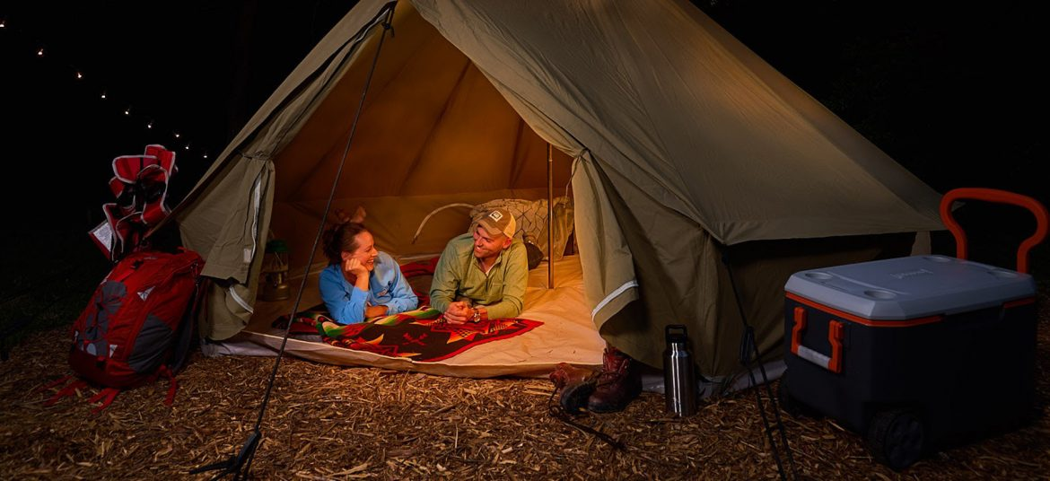Give Yourself To Nature While Camping